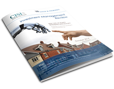 Click here to access the latest Investment Management Review Online
