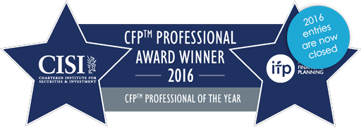 cfp professional award winner